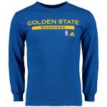 golden state warriors adidas cut and paste long sleeves t-shirt royal