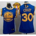 women nba golden state warriors #30 stephen curry blue the finals patch stitched jerseys