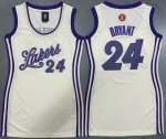 women nba los angeles lakers #24 kobe bryant cream 2015-2016 chr
