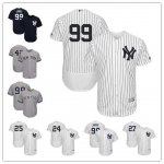 Baseball New York Yankees Stitched Flex Base Jersey and Cool Base Jersey