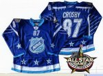 2012 nhl all star pittsburgh penguins #87 crosby blue