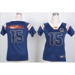 nike women nfl chicago bears #15 brandon marshall blue [fashion