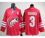nhl phoenix coyotes #3 yandle red jerseys [A]