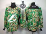 NHL Tampa Bay Lightning Blank Camo Veterans Day Practice 2015 St