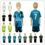 Kids 2017-2018 Soccer Club Real Madrid Jerseys