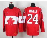 nhl team canada #24 rielly red [2014 world championship][rielly]
