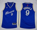 youth nba golden state warriors #9 andre iguodala blue 2015-2016 christmas day stitched jerseys