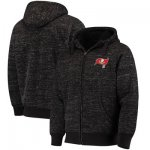 Football Tampa Bay Buccaneers G III Sports By Carl Banks Discovery Sherpa Full Zip Jacket Heathered Black