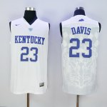 nike kentucky wildcats #23 davis white jerseys