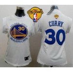 women nba golden state warriors #30 stephen curry white the finals patch fashion stitched jerseys