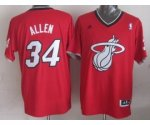 nba miami heat #34 allen red [2013 Christmas edition]