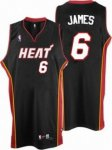 Kids Miami Heat #6 LeBron James black