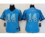 nike women nfl san diego chargers #14 fouts lt.blue [Elite drift