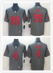 Football Houston Texans Stitched 2019 Gray Inverted Vapor Untouchable Limited Jersey
