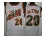 nba seattle supersonics #20 payton white [revolution 30 throwbac