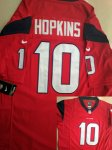nike nfl houston texans #10 hopkins red game jerseys