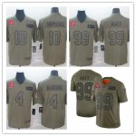 Men's Football Houston Texans Camo 2019 Salute to Service Limited Jersey
