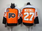 nhl philadelphia flyers #27 hextall orange [hextall][m&n]