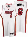 Kids Miami Heat #6 LeBron James white