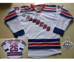 nhl new york rangers #26 st.louis white [2014 stanley cup]