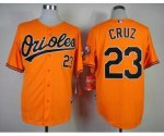 mlb baltimore orioles #23 cruz orange jerseys
