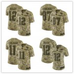 Football New England Patriots Stitched Camo Salute to Service Limited Jersey
