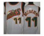 nba seattle supersonics #11 schrempf white [revolution 30 throwb