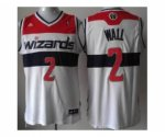 nba washington wizards #2 john wall white [revolution 30 swingma