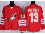 nhl phoenix coyotes #13 whitney red cheap jerseys