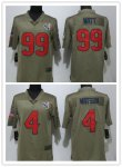 Football Houston Texans Stitched Olive 2017 Salute to Service Limited Jersey