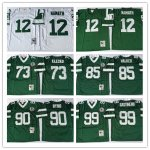 Football Mens New York Jets Mitchell & Ness Retired Player Throwback Jersey