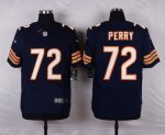 nike chicago bears #72 perry blue elite jerseys