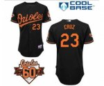 mlb baltimore orioles #23 cruz black [60 th]