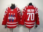 nhl washington capitals #70 holtby red [2014 new]