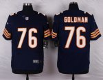 nike chicago bears #76 goldman blue elite jerseys