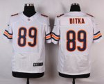 nike chicago bears #89 ditka white elite jerseys