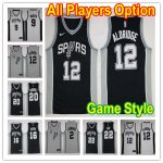Basketball San Antonio Spurs All Players Option Swingman Icon Edition Jerseys- Game Style