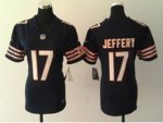 nike women nfl chicago bears #17 alshon jeffery blue jerseys