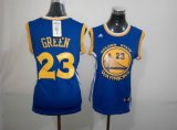 women nba golden state warriors #23 draymond green blue revolution 30 swingman jerseys