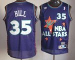 nba detroit pistons #35 grant hill purple [1995 all star throwba