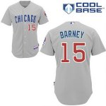 mlb jerseys chicago cubs #15 darwin barney grey(cool base)cheap