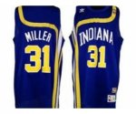 nba indiana pacers #31 miller blue [soul swingman throwback]