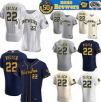 Cheap 2020 Milwaukee Brewers Stitched Player Jersey Baseball Jerseys