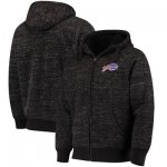 Football Buffalo Bills G III Sports By Carl Banks Discovery Sherpa Full Zip Jacket Heathered Black