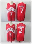 Basketball Toronto Raptors #2 Kawhi Leonard #7 Kyle Lowry Red Swingman Earned Edition Jersey