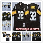 Football Pittsburgh Steelers Mitchell & Ness Retired Player Vintage Throwback Jersey