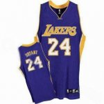 kids Los Angeles Lakers #24 Kobe Bryant purple