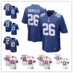 Football New York Giants Stitched Game Jerseys