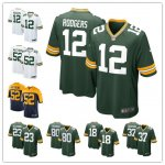 Football Green Bay Packers Stitched Game Jerseys