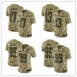 Football Los Angeles Chargers Stitched Camo Salute to Service Limited Jersey